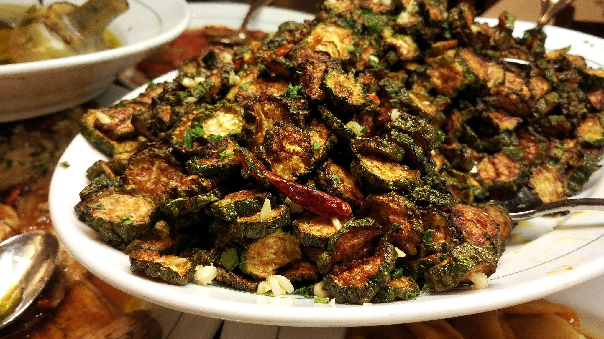 Zucchine alla poverella ricetta pugliese