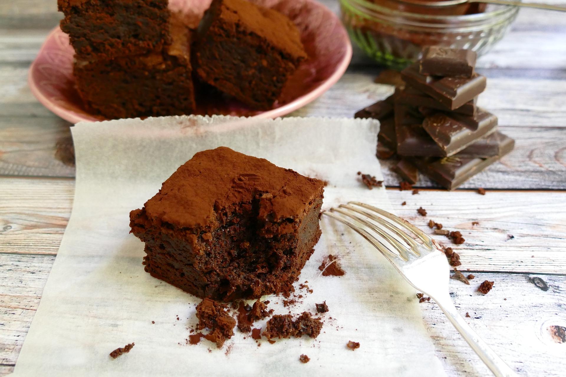 Brownies alle ciliegie ricetta