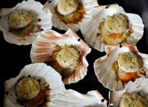 Capesante gratinate al forno con besciamella: sapore di mare