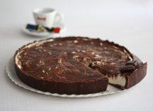 Cheesecake con riso soffiato croccante mascarpone e nutella