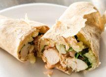 chicken wrap ricetta