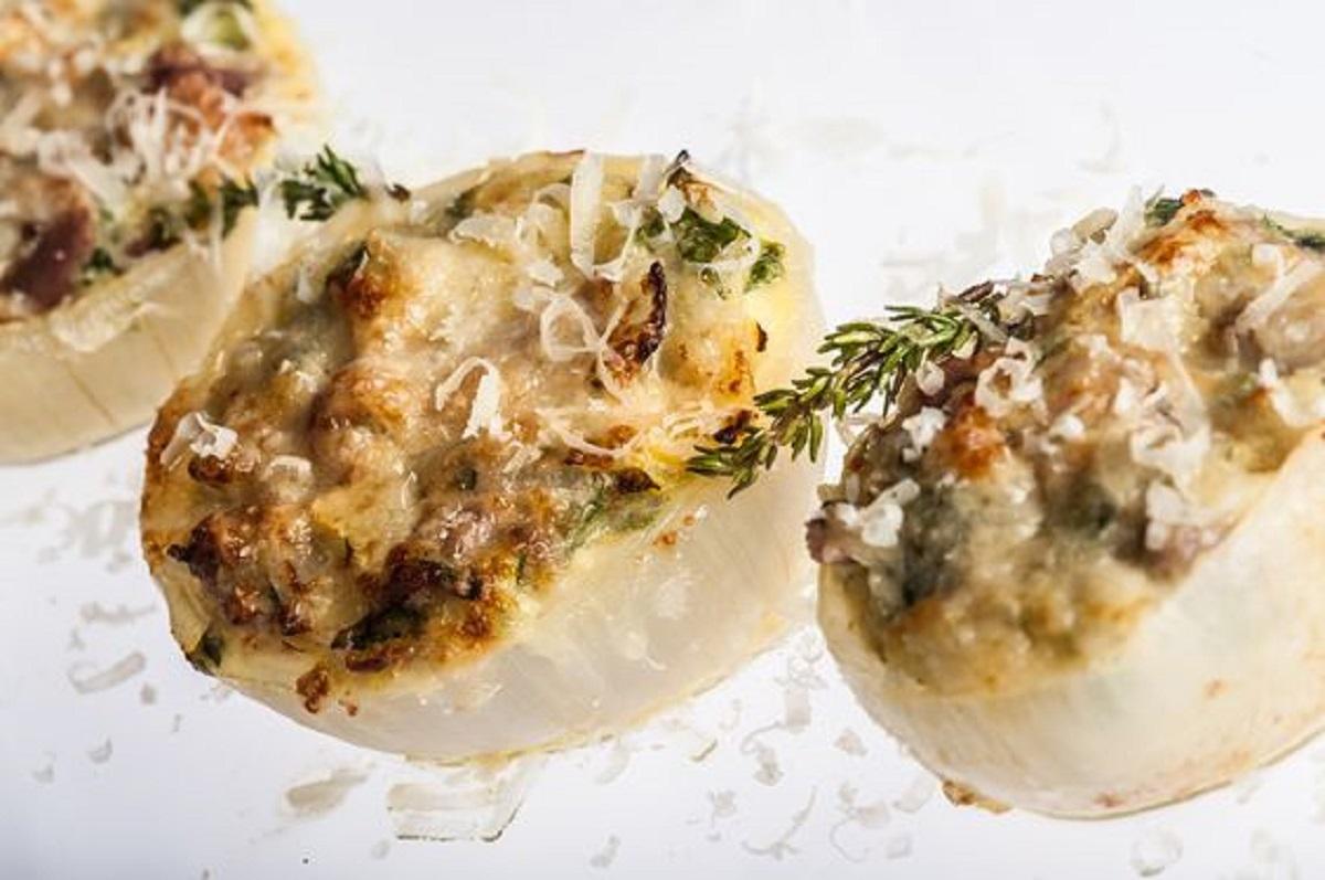 cipolle ripiene alla ligure ricetta