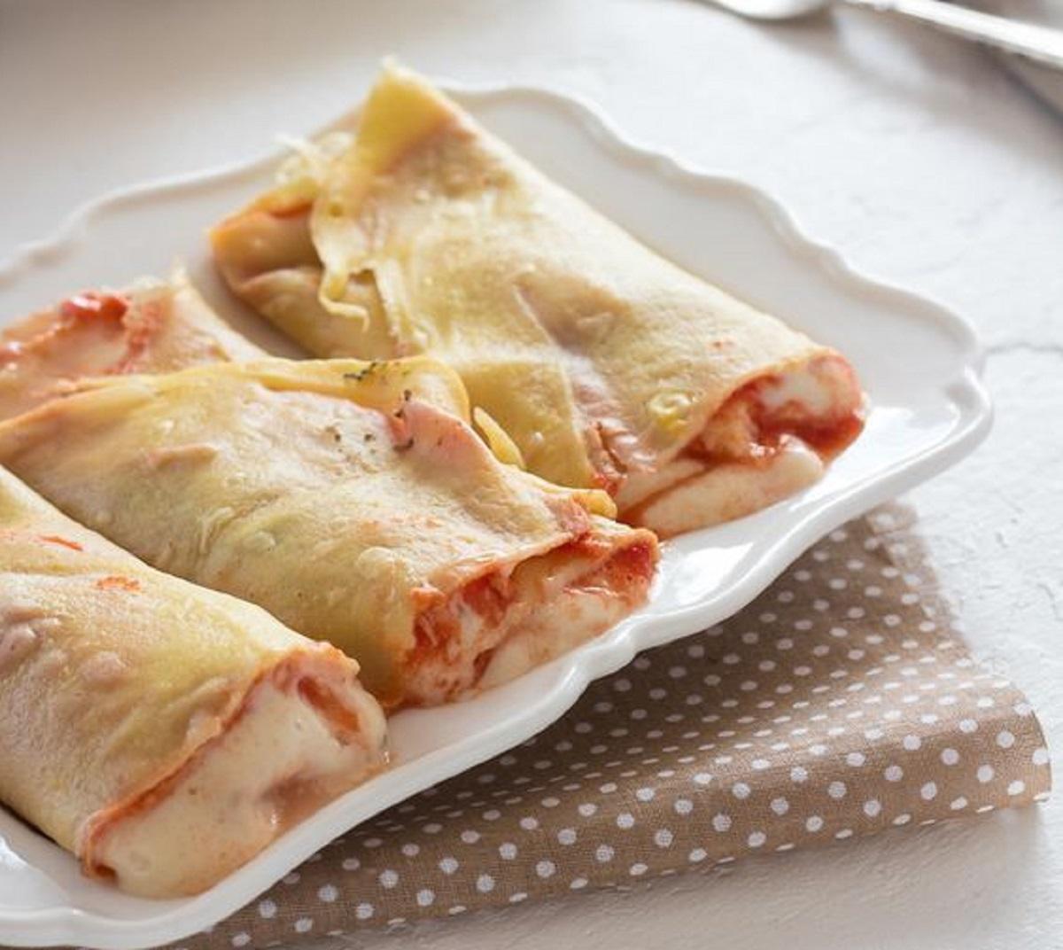 crepes salate alla pizzaiola