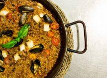fregola con arselle e cozze ricetta sarda