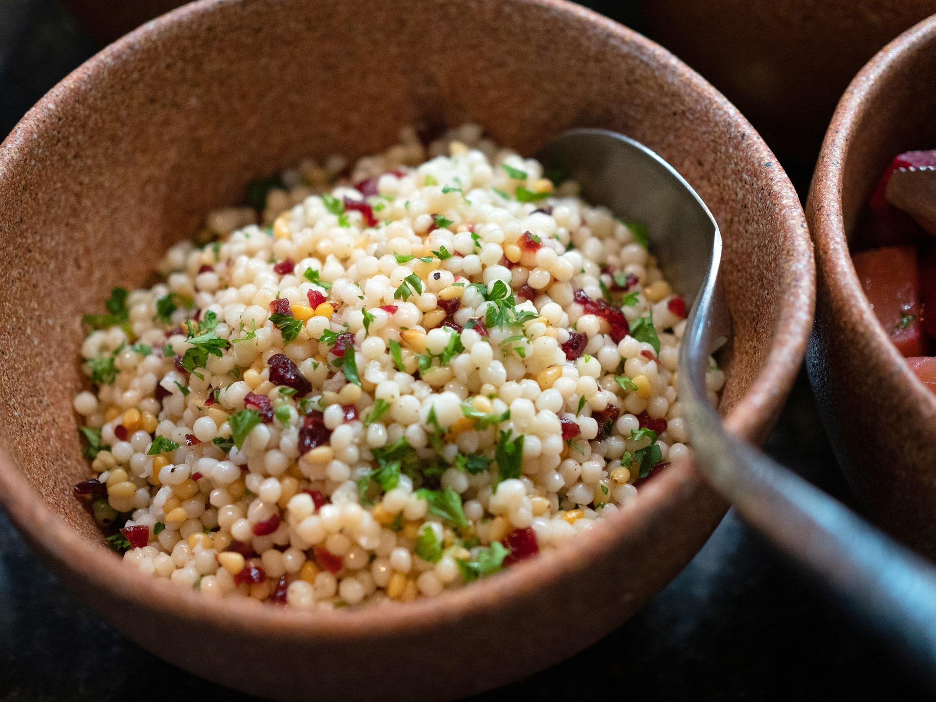 fregula sarda con verdure ricetta