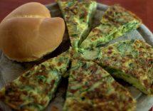 Frittata di quinoa e zucchine