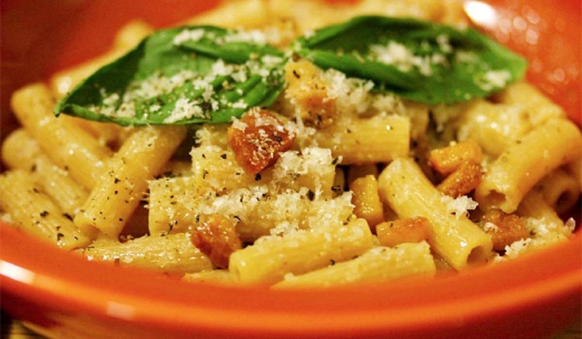 Ricetta Gricia Con Bimby.Pasta Alla Gricia Ricetta Bimby Il Lazio A Tavola Food Blog