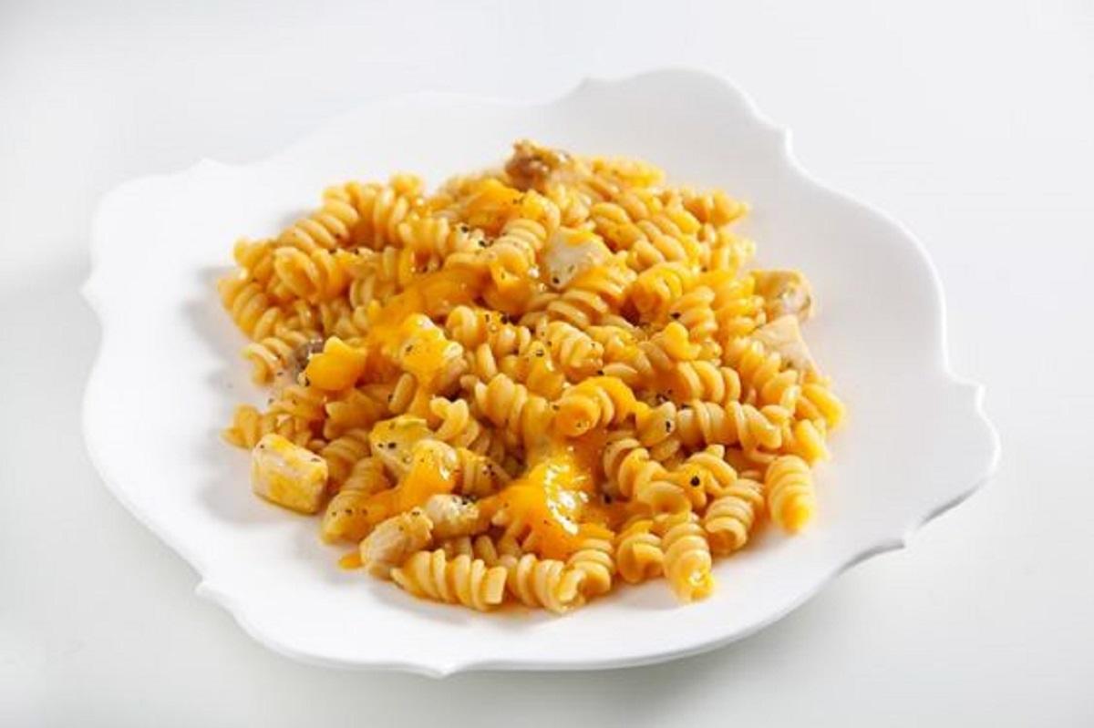 pasta con frutta esotica