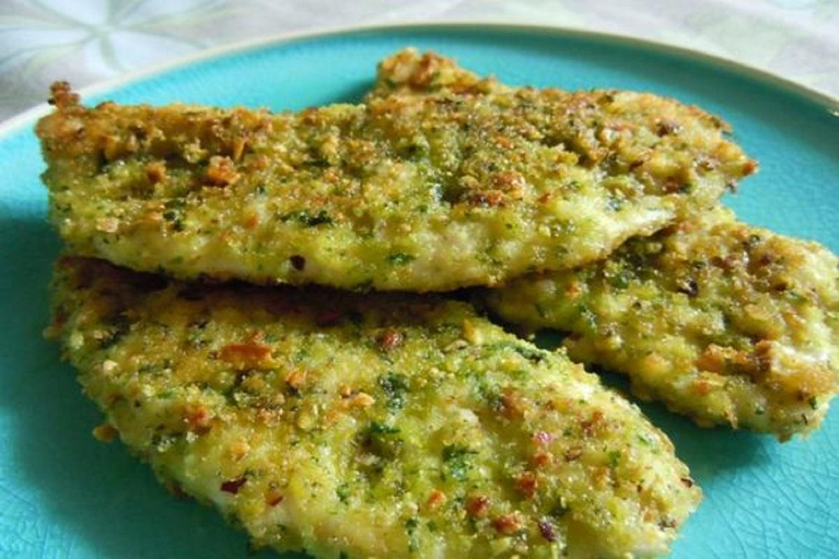 petto di pollo ai pistacchi ricetta