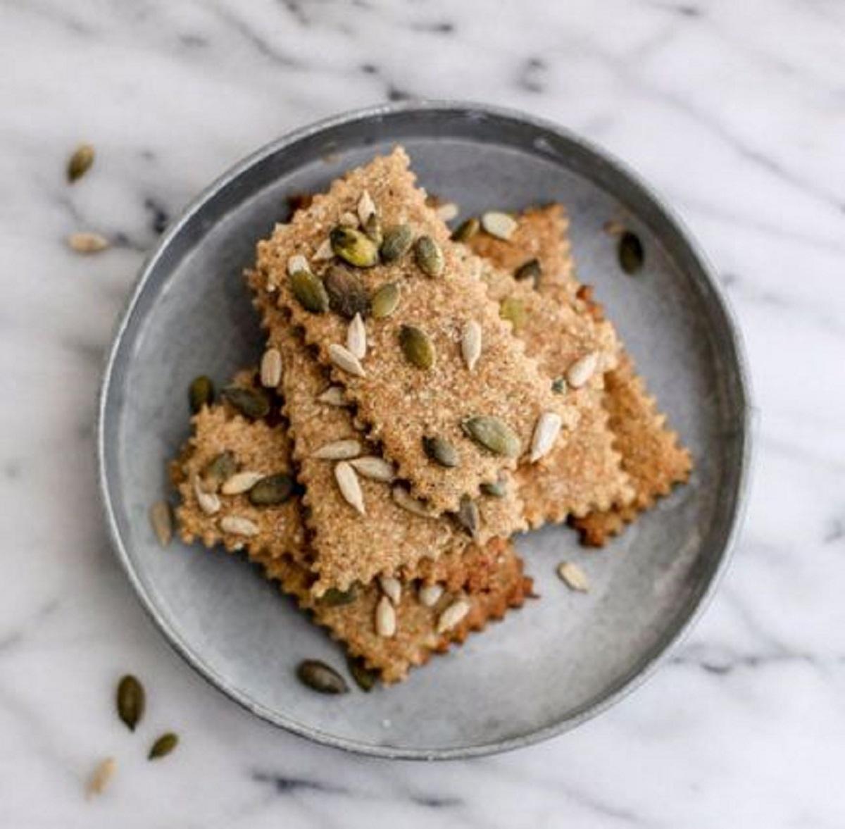 ricetta cracker integrali light