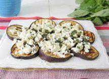 ricetta melanzane e feta al forno