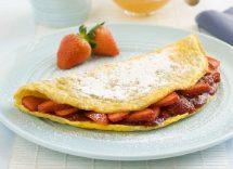 ricetta omelette dolci nutella