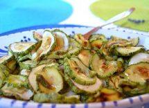 ricetta per zucchine in carpione non fritte