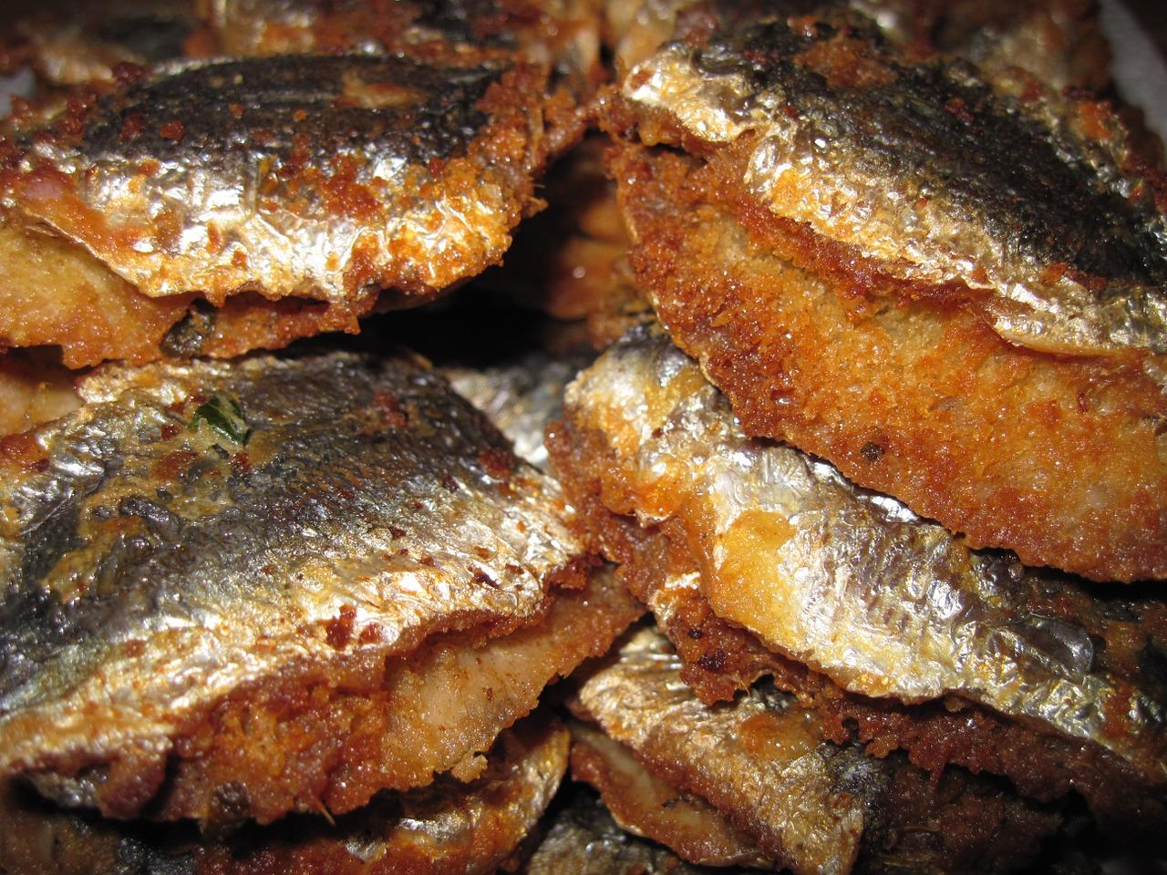 Sarde fritte ricetta veneta