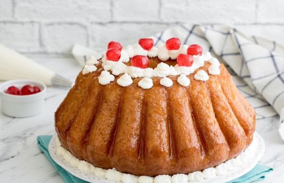 torta babà napoletano ricetta originale
