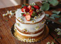 Torta nuda ricetta della naked cake