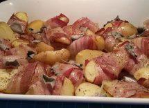 Bocconcini di patate scamorza e speck