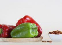 Cotolette di peperoni al forno senza uova