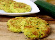 Frittelle di ricotta e zucchine al forno