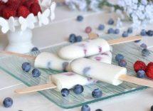 ghiaccioli allo yogurt fatti in casa