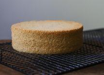 pan di spagna integrale senza zucchero