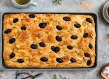 Pizza con olive salentine