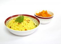 risotto con prezzemolo e limone