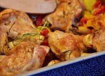 Rustichelle di pollo al forno: come prepararle