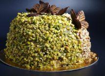 Semifreddo al cioccolato bianco e pistacchi: