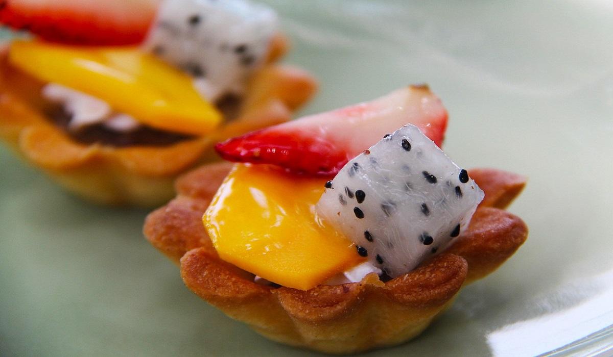tartellette di frutta con crema pasticcera