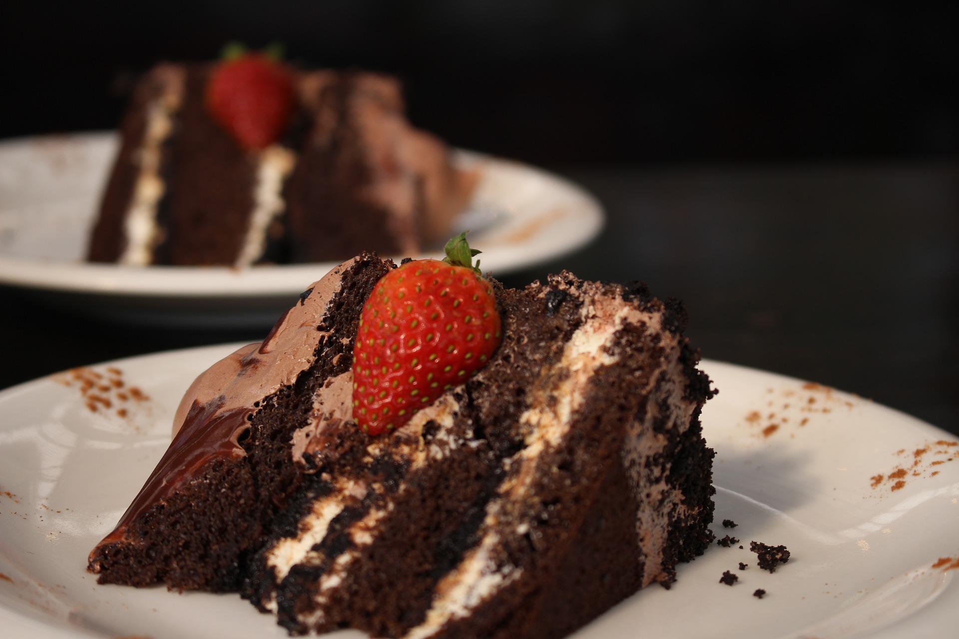 torta oreo e fragole