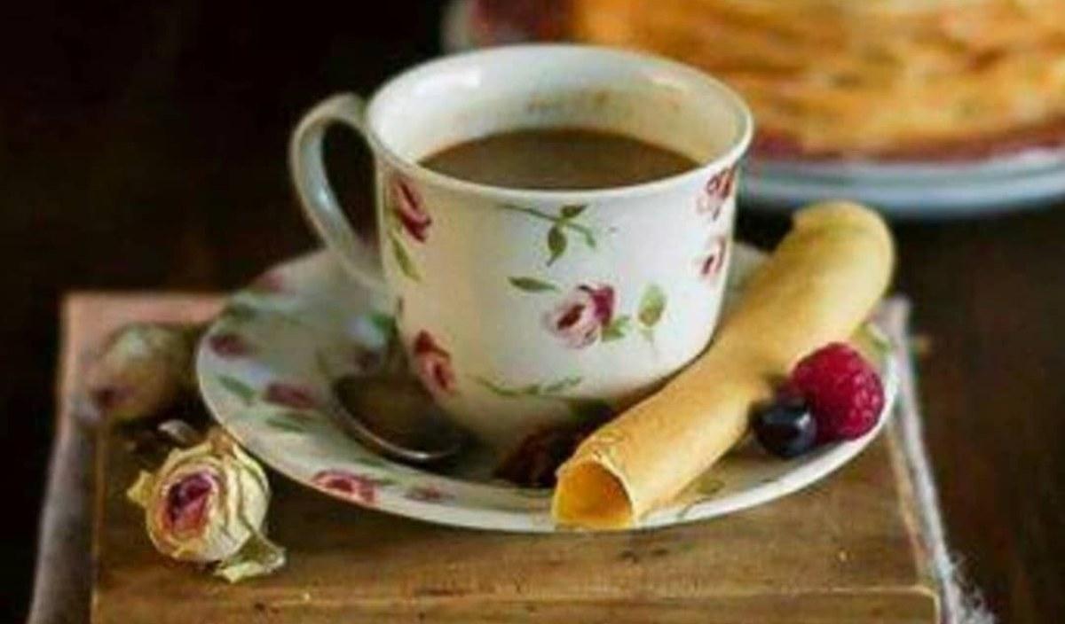 caffè cannella e latte di cocco