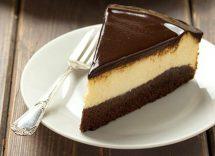 cheesecake bicolore al caffè