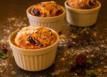 muffin dolci con pane raffermo