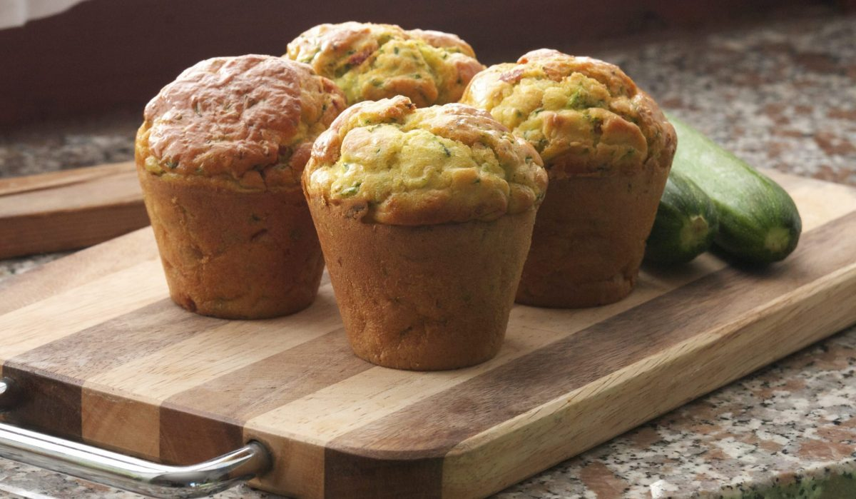 muffin salati con pane raffermo