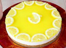 ricetta cheesecake senza cottura al limone