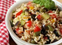 risotto estivo con verdure
