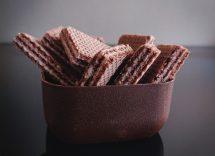 semifreddo alla nutella con wafer e nocciole