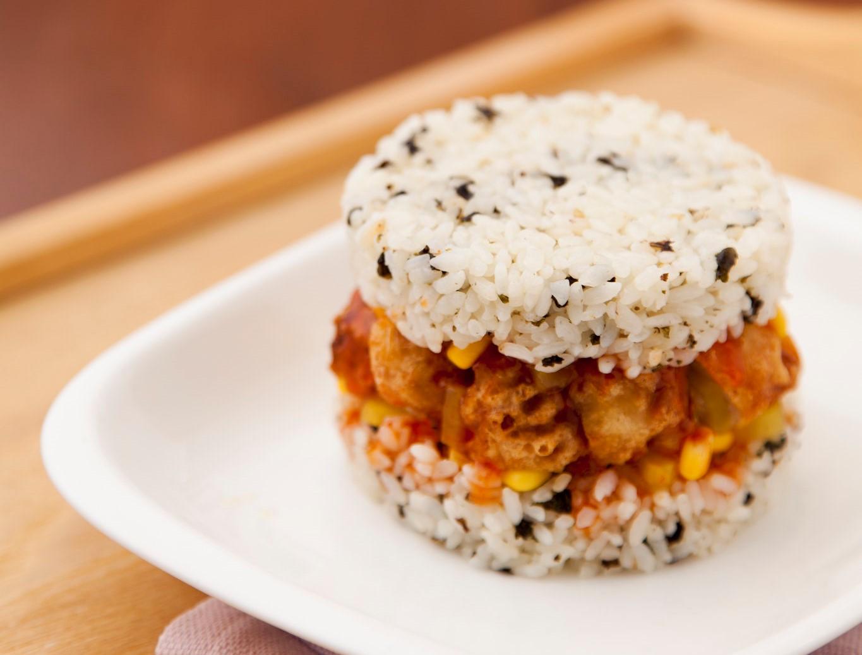 sushi burger ricetta