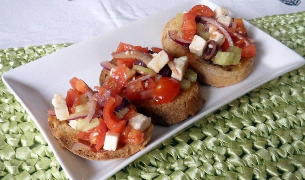 bruschette greche