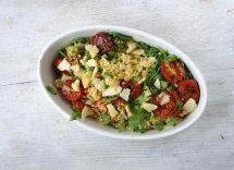 insalata di miglio con verdure