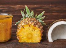 Marmellata ananas e cocco Bimby