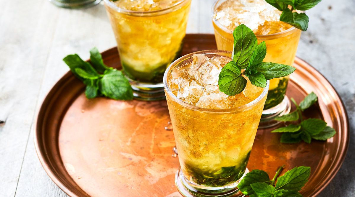 mint julep cocktail ricetta