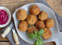 polpette di patate alla siciliana al forno