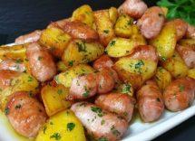 salsiccia e patate al forno ricetta calabrese