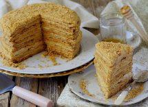 torta al miele russa