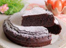Torta di riso al cioccolato e ricotta