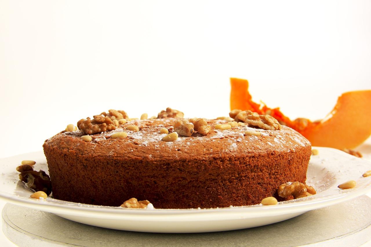 torta zucca amaretti e cioccolato