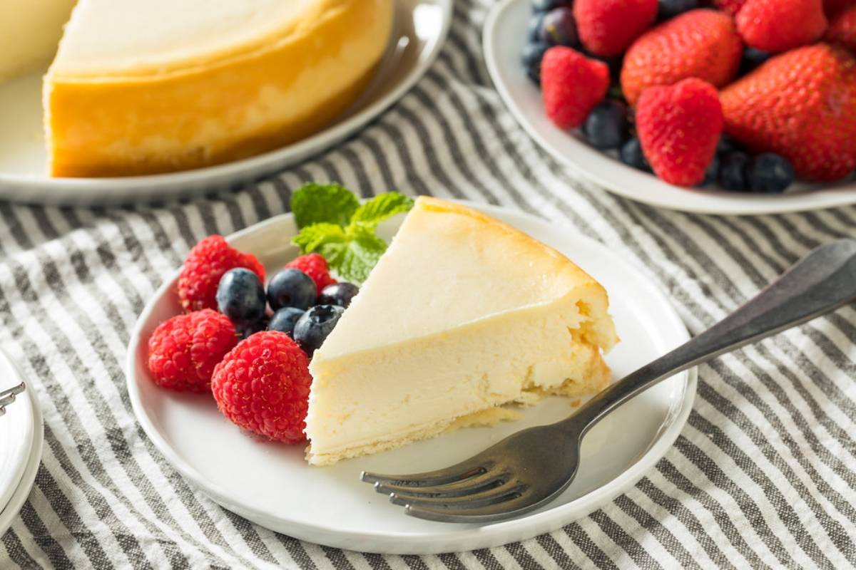 brioche cheesecake