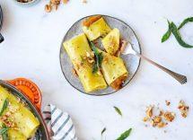 cannelloni con zucca ricotta e salsiccia
